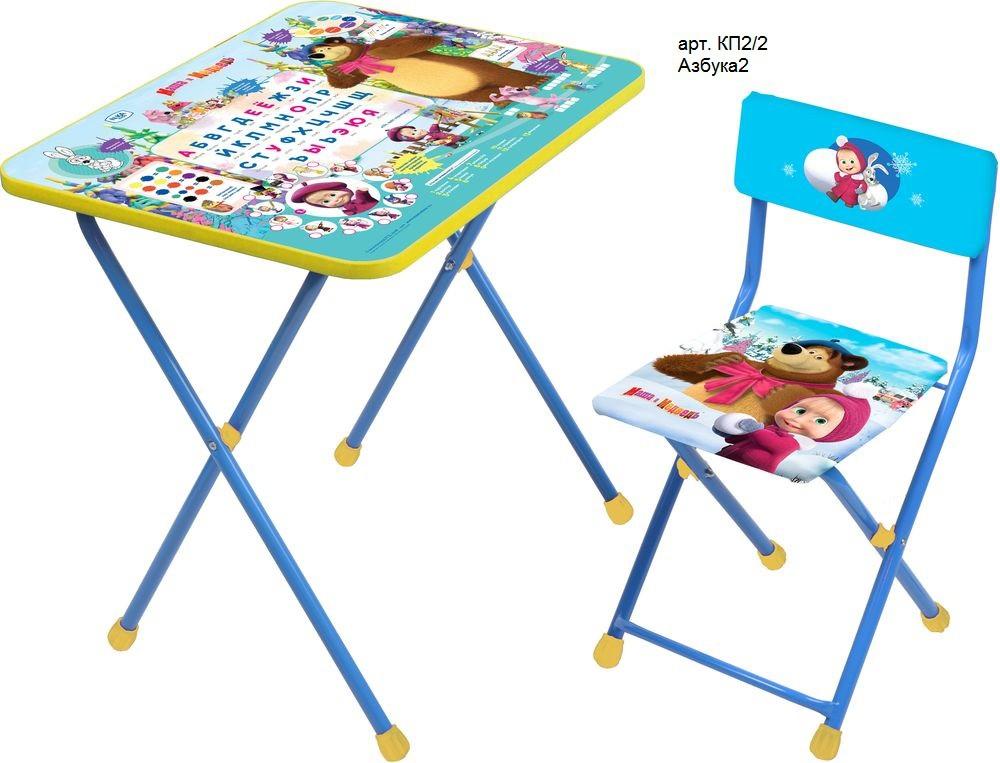 детский стол и стул ника маша и медведь кп2 интернет магазин